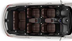 2017 Acura MDX surround sound speakers