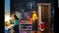 Great idea for kids room, love it!