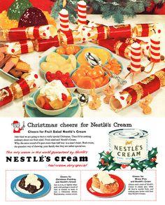 Nestlé's Cream advertisement. by totallymystified, via Flickr