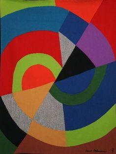 Sonia Delaunay, Diagonale, via Artsy.net