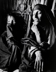 By George Rodger (1908-1995, British), 1957, Tuareg Matriarch near Tamanrasset, Algerian Sahara.