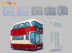 Bus, Iosu Palacios on ArtStation at https://www.artstation.com/artwork/XYA2a