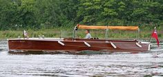 """Princess Paige"""" – 1926 Earl C. Barnes launch, the first boat ever built by Earl C. Barnes after leaving the Minett-Shields Boat Co."""