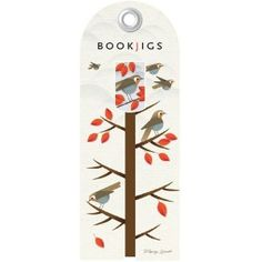 Bookjigs Flying South Bookmark