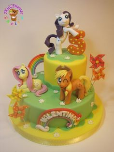 My Little Pony - Cake by Sheila Laura Gallo