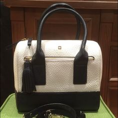 Nwot: Kate Spade Midnight Blue Alessa Southport