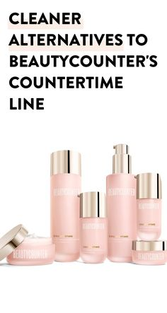 Beautycounter isn't all it's cracked up to be. Here are a list of cleaner and cheaper alternatives to beautycounter's countertime line #cleanbeauty