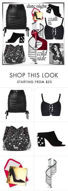 """Walk on the Wild Side"" by sparklemeetsclassic ❤ liked on Polyvore featuring Versus, Karl Lagerfeld and Givenchy"