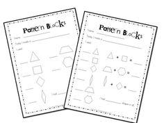 Wills Kindergarten: Math activities to do with pattern blocks Teaching Shapes, Teaching Math, Maths, Preschool Shapes, Preschool Math, Kindergarten Lessons, Math Lessons, Math Stations, Math Centers