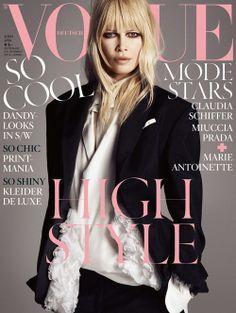 Vogue, Claudia Schiffer <3