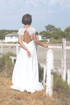 Jeanne Source Créatrice de robes de mariée // Elsa // www.jeannesource.fr