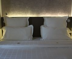 Photo Deco : Chambre  Blanc  Zen   Hôtel Gabriel Paris Marais