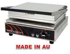 Commercial Contact Grill - Woodson WCT8 Single Contact Grill-www.hoskit.com.au- Kitchen & Catering Equipment