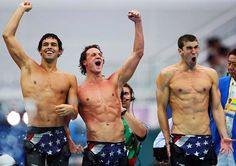 Ryan Lochte and Michael Phelps: Olympics face!