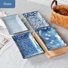 Ceramic Painting, Ceramic Art, Sushi Plate, Sushi Set, Glazing Techniques, Blue Pottery, White Dishes, Ceramic Tableware, Dinnerware Sets