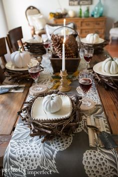 Fall Tour & Decorating Ideas | perfectly imperfect