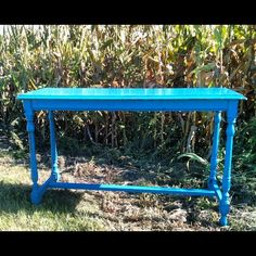 Cobalt Blue Table! Love