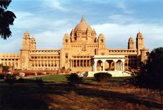 Umaid Bhawan Palace, Jodhpur, India ( rear view )