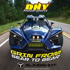 It's the best time of year to grin from gear to gear. Test drive a #Polaris #Slingshot at #DHYMotorsports today and receive a #free Slingshot tumbler. Call Joe Sandor at 856-848-8500 to learn more! More info here: bit.ly/SlingDHY #polarisslingshot #SlingshotHeaven Polaris Industries, Polaris Slingshot, Terms And Conditions, Driving Test, Tumbler, Good Things, Learning, Car, Free