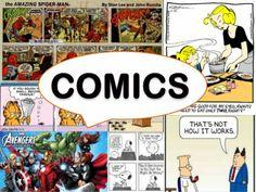 Comics, Arts and Crafts-PPT
