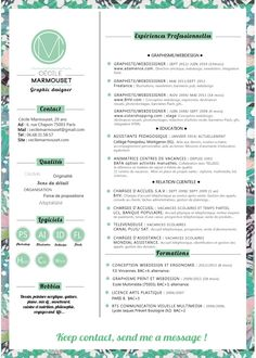 graphic designer, design textil, webdesigner, interractive designer, cecile marmouset, french, cv, resume, job, creativity, typography, flowers