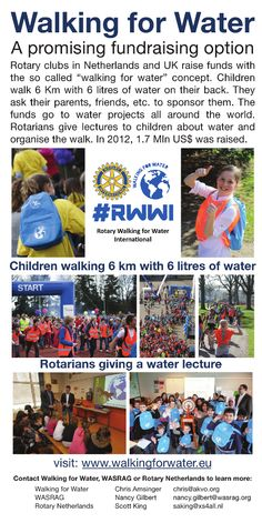RWWI is heading to Bangkok for the Rotary International convention. We hope to meet and inspire lots of Rotary clubs to join us in 2013. Come by and meet with water guru Henk Holtslag and distinguished water Rotarian Larry Siegel at Booth #411 in the Friendship Hall. Please leave us a note here if you drop by the booth  Here is our poster printed in large format to decorate our stand.