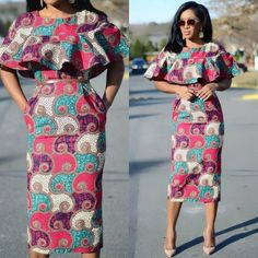 A collection of the best and Latest Casual African Ankara Styles. These casual ankara styles and casual ankara designs were specifically selected for your taste of casual ankara styles African Fashion Designers, Latest African Fashion Dresses, African Print Dresses, African Print Fashion, Africa Fashion, African Dress, Ankara Fashion, African Attire, African Wear