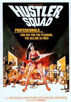 We've handpicked 25 of the coolest grindhouse posters to ever come out of the sleazy fringes of the movie industry. Enjoy yo'self!