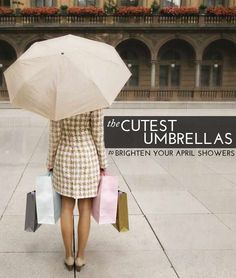 The Cutest Umbrellas To Brighten April Showers!