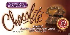 Chocolate Pecan Cluster 30 calories per piece