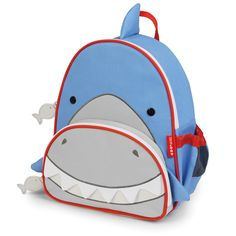 Skip Hop Zoo Packs little kid backpacks - Shark
