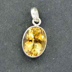 Classic Design Citrine Silver by DevmuktiJewels on Etsy