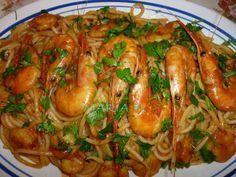 Greek Recipes, Fish Recipes, Seafood Recipes, Pasta Recipes, Vegetarian Recipes, Healthy Recipes, Recipies, Food Network Recipes, Food Processor Recipes
