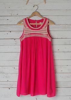 Maryana Embroidered Dress