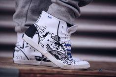 Sara Look 5 Jordans Sneakers, Air Jordans, High Top Sneakers, Converse Chuck Taylor High, Chuck Taylors High Top, High Tops, Street Wear, Unisex, Leather