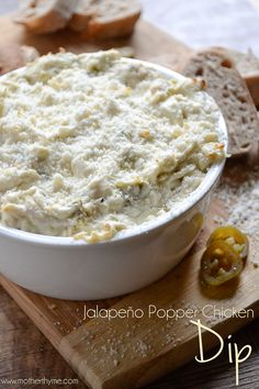 Jalapeño Popper Chicken Dip