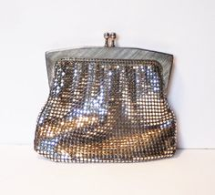 Vintage Glomesh coin purse in silver mesh by MyHighStreetBoutique SOLD