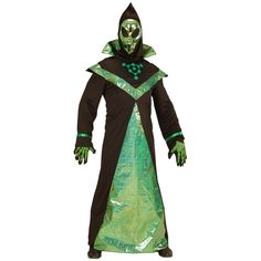 Alien Kostüm mit Maske