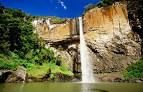 Waterfall in Chuvisqueiro, Brazil.