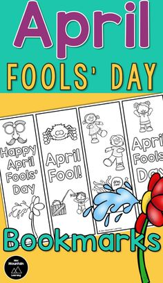 April Fools Pranks, April Fools Day, Bookmarks Kids, Book Marks, Groundhog Day, Word Work, Pediatrics, Classroom Management, The Fool