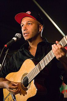 Tom Morello -guitarist... gotta be in the top 10 of all time.