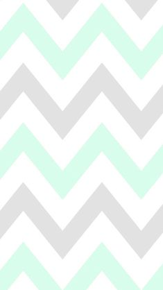 Mint chevron CocoPPa wallpaper