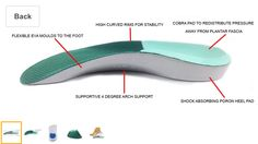 If you suffer from plantar fascitis or heel pain, you have found a friend in these ultra-supportive dr foot cobra insoles for heel pain. The soft cover and the flexible EVA base material create an excellent arch support which immediately treats the cause of the heel pain. The special cobra pad redistributes pressure away from the insertion of the plantar fascia of the heel. The insoles provide stability from foot strike through to mid-stance.  View on amazon, search for heel pain cobra…