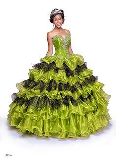 Anna Disney Princess-Inspired Quinceanera Dresses