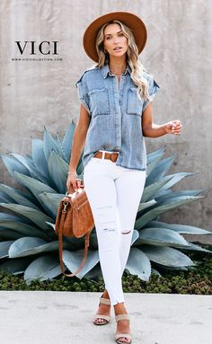 Outfits With Hats, Casual Outfits, Cute Outfits, Casual Chic, Spring Summer Fashion, Spring Outfits, Summer Outfits For Moms, Looks Style, My Style