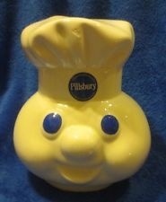 Pillsbury Doughboy Cookie Jar Replacement Lid Top Talking