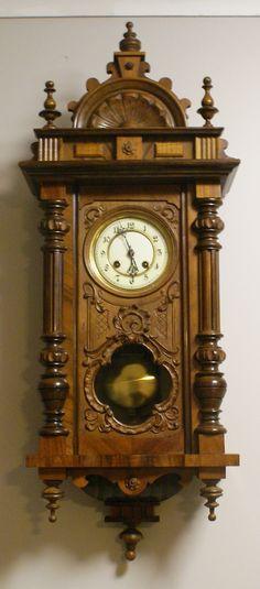 Clock Wall Design Unique and Antique make Your Home more Attractive Clock Art, Clock Decor, Antique Clocks, Vintage Clocks, Clock Shop, Timer Clock, Cool Clocks, Grandfather Clock, Elegant Home Decor