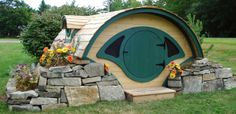 la casa de los hobbits