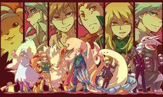 Pokemon Champions and Their Pokemon. Why is Pikachu in the lineup? Pokemon Fan Art, Pokemon Ships, Pokemon Stuff, Gary Oak, Pokemon Backgrounds, Pokemon Champions, Gym Leaders, Pokemon Special, Pokemon Images