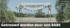 Laat je trouwen door BABS! http://www.theperfectwedding.nl/artikelen/120/getrouwd-worden-babs
